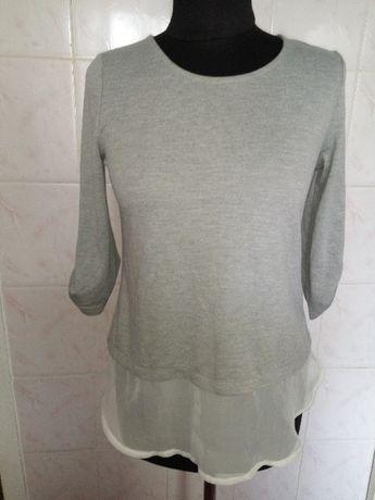 Новая серая кофта-блузка от Zavanna