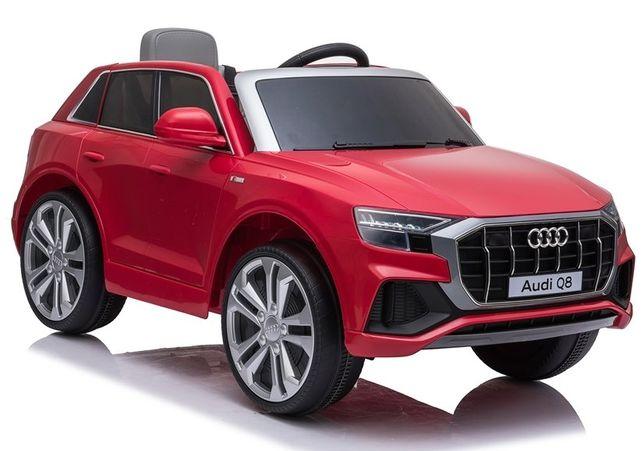 Auto na Akumulator Audi Q8 czerwony :babyland lodz