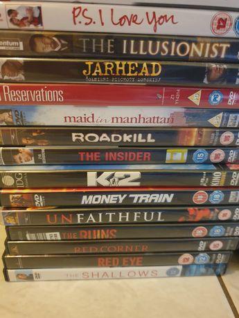 Filmy DVD wersje pudełkowe stan bdb