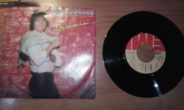 "Dreamin' Cliff Richard 7"" vinyl single"