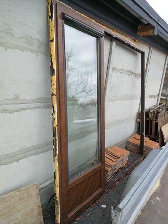 Okno tarasowe używane 229.5x267