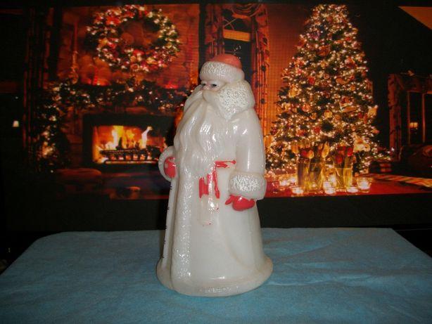 Дед мороз новогодняя игрушка винтаж