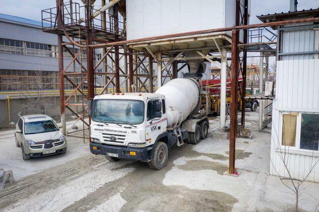 Заказать бетон М-400. Доставка бетона Днепр и область
