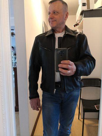 Kurtka motocyklowa skóra firmy Echtes Leder
