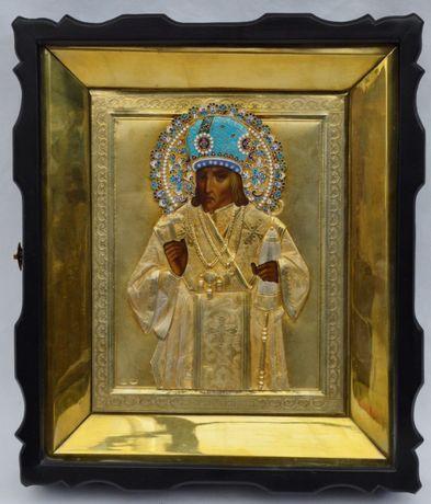 икона Иоасаф Белгородский. 84* эмаль