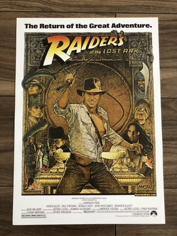Raiders of the lost ark plakat poster nowy
