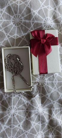 Srebrny łańcuszek męski 925