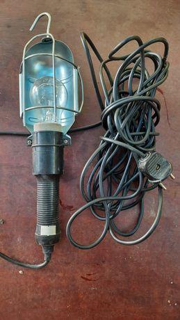 Удлинитель 9 м ,фонарь