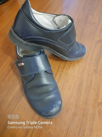 Кожаные туфли Бартек