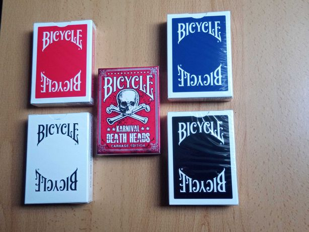 Baralho de Cartas Bicycle Karnival Deat Heads ou Bicycle Insignia