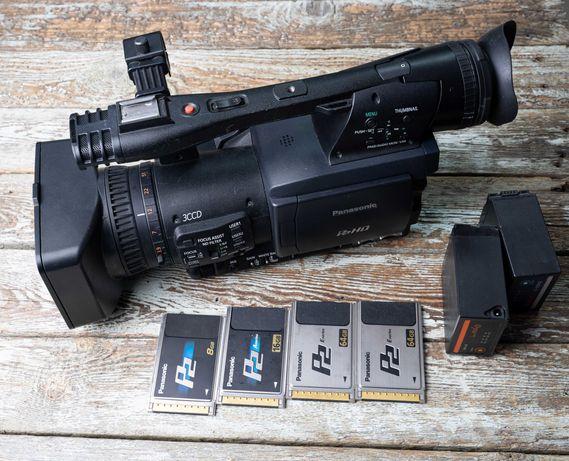 профессиональная видеокамера panasonic AG-HPX171E  P2HD 3ccd