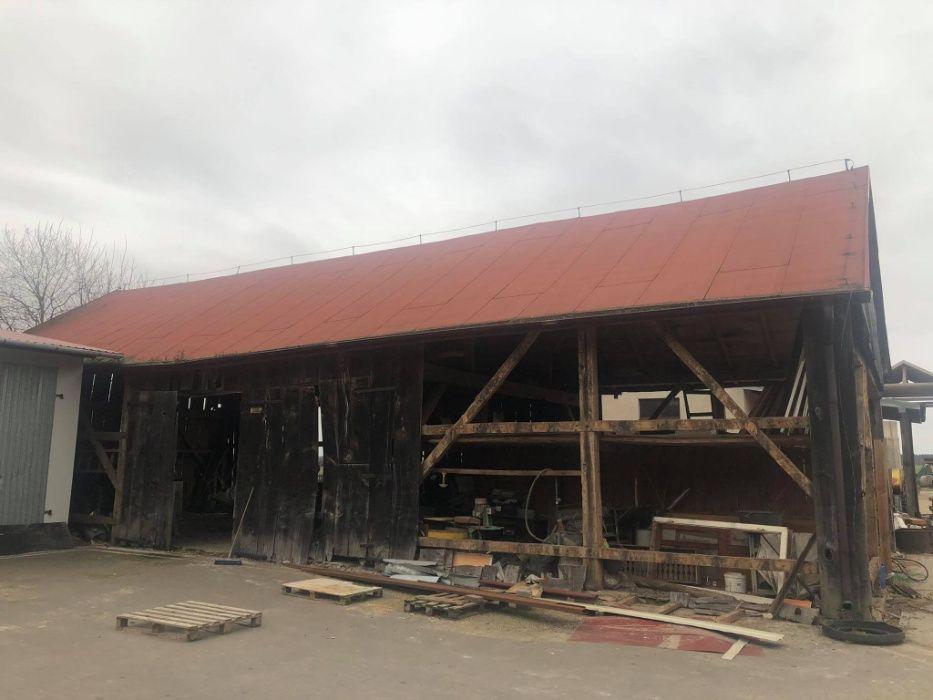 Sprzedam stodołę drewnianą Zajączków - image 1