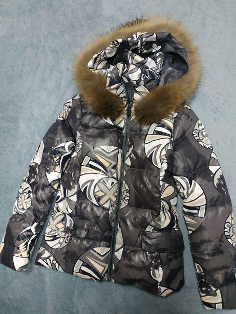 Подростковая куртка для девочки р.xs,42