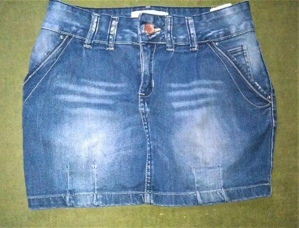 Продаю мини юбку джинсовую б/у за 60грн.