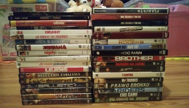 Filmy na DVD-32szt.