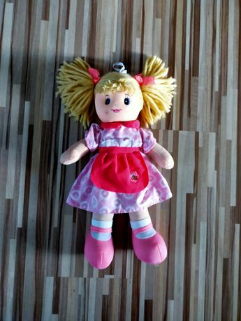 Grająca lalka szmacianka 43cm