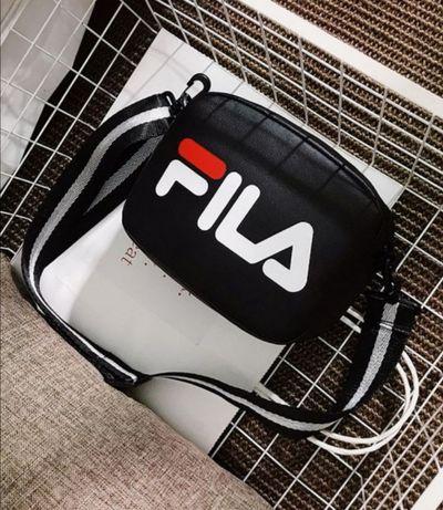 NOWA torebka, FILA, biała lub czarna ekoskóra, świetna jakość, wysyłka