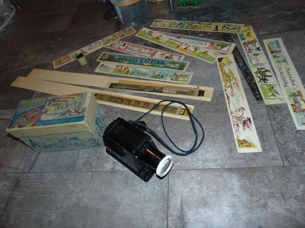 Projektor DIAR,12 bajek na rzutnik,na prezent