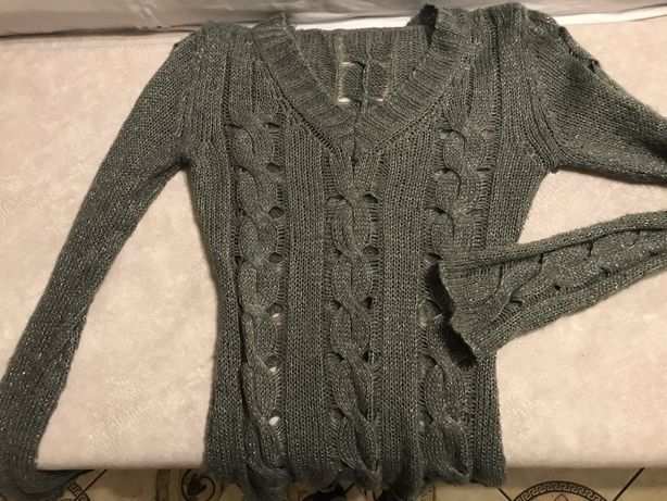 Ażurowy sweterek rozmiar S/M