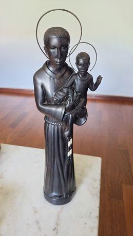 Santo Antonio em pau preto