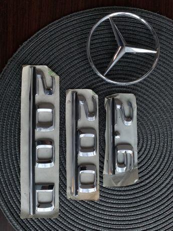 Emblemat na tylną klapę Mercedes 260E 250D 230E 200D 200