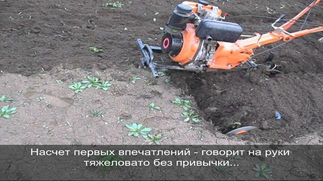 Вспашка земли мотоблоком с Дмитровка и Дачи