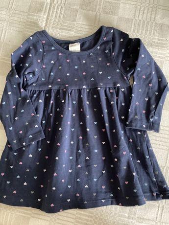 Sukieneczka H&M, rozm. 74