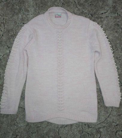 Теплый свитерок на 10-11 лет