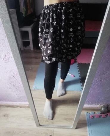 Spódnica czarno- biała