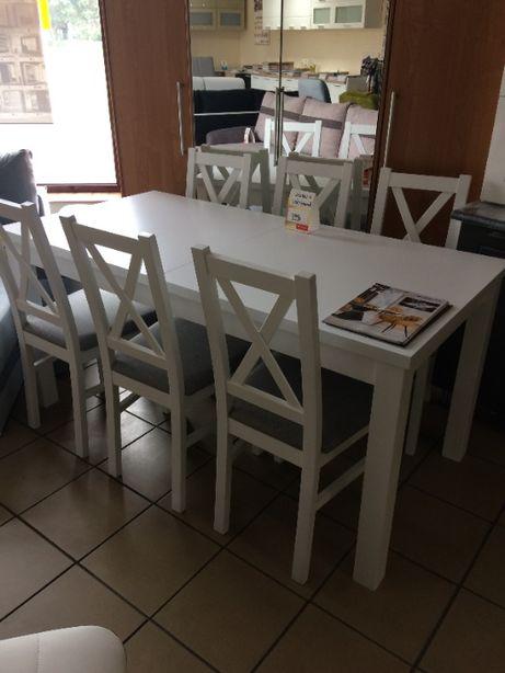stół + 6 krzeseł nowy! od ręki