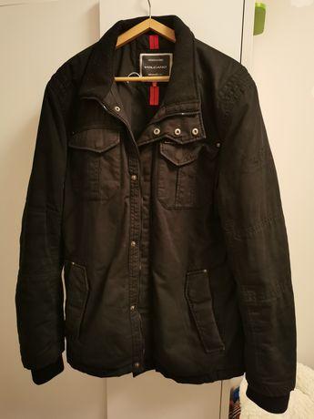 Męska czarna kurtka Vulcano rozmiar XL