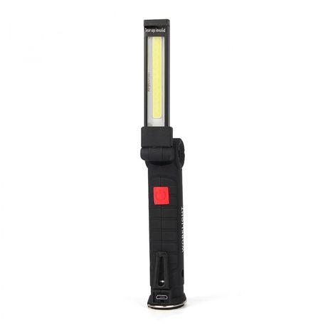 Lanterna COB 5 modos de luz
