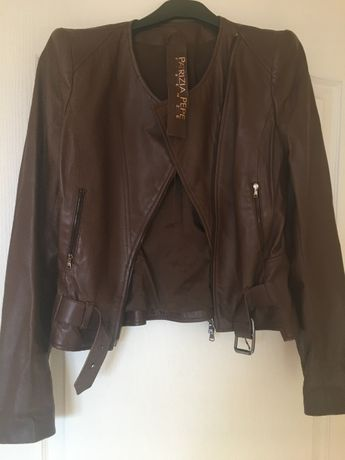 Продам кожаную куртку Patricia Pepe