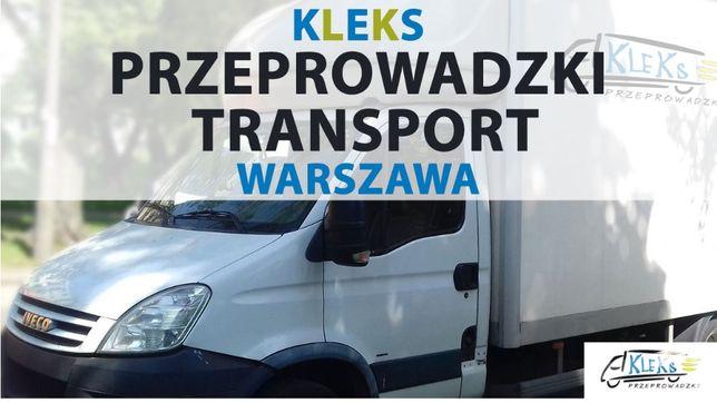 Przeprowadzki Transport Taxi bagażowe oraz przewóz mebli Warszawa