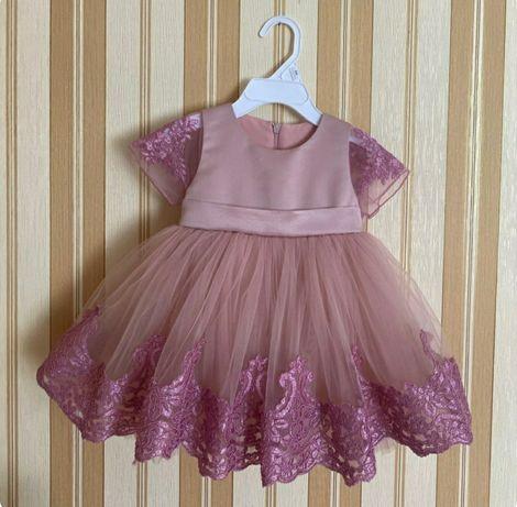Платье на годик для девочки