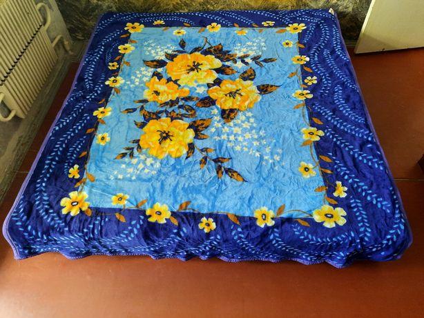 Новое Меховое Одеяло покрывало плед 2х2.4 м Корея