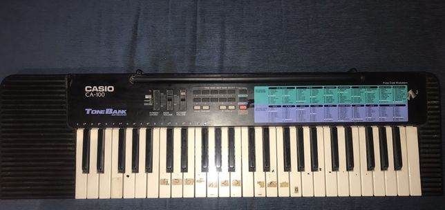 keyboard casio CA-100