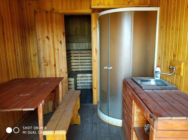 Мобильная баня на дровах