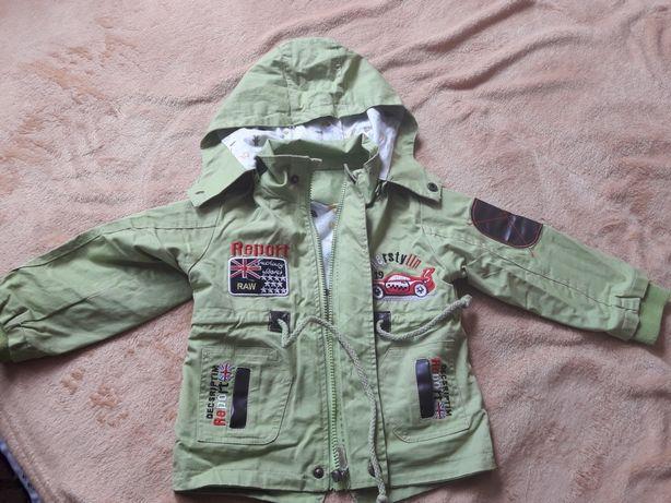 Куртка каттоновая на мальчика. Состояние хорошее