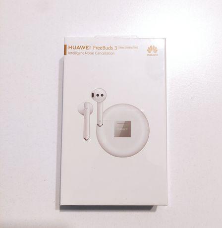 Nowe Bezprzewodowe Słuchawki Huawei FreeBuds 3 Gwarncja Dowóz Śląsk