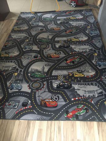 Duża wykładzina  dywanowa 2*3m cars