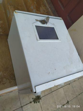 Ящик для счетчика, лічильник, коробок железный