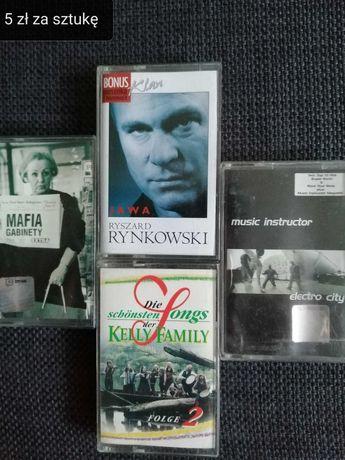 kasety magnetofonowe kolekcja tanio