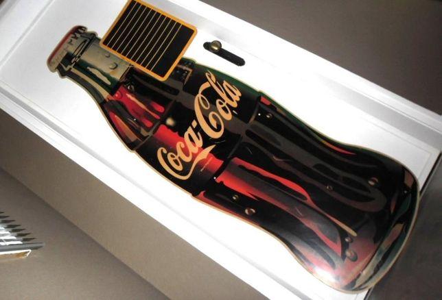 Publicitário Gigante Vintage Coca Cola