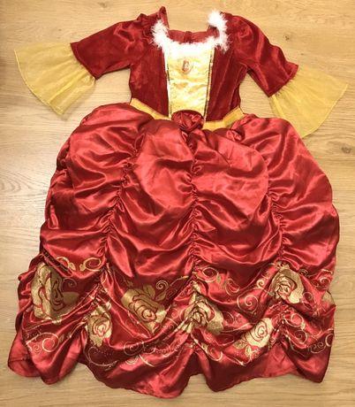 Карнавальное платье принцессы Бель на 4-5 лет Disney