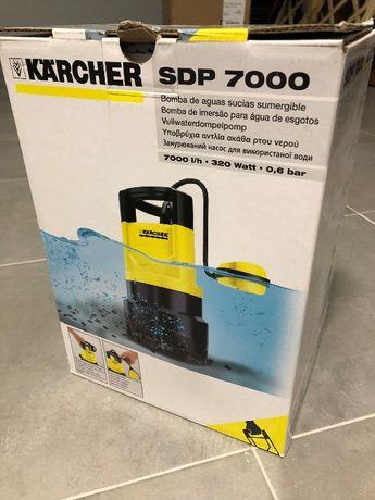 Karcher SDP7000 - Bomba de imersão para águas sujas