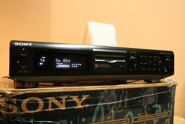 Super Odtwarzacz MiniDisc SONY MDS-JE510 +org. karton +TDK/ Wysyłam!