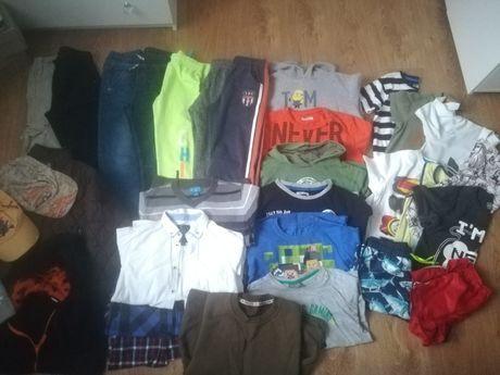 Paka ponad 20szt Ubranka dla chłopca SMYK kurtki spodnie bluzy bluzki