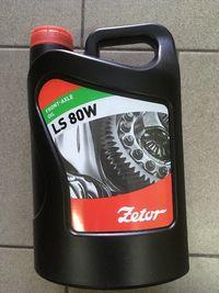 Olej Zetor przedniej osi LS 80 W 4l.