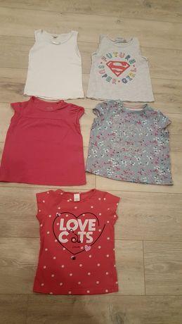 Bluzki koszulki roz 104